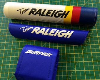 Team Raleigh Burner Padset - Old School BMX