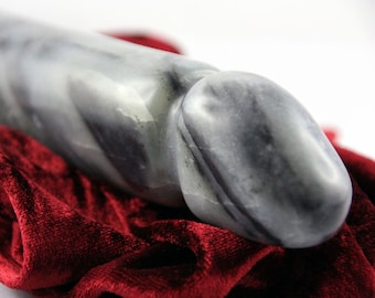 ATHOS STONE DILDO hand-sculptured one-of-a-akind xxl sex toy, anal Dildo adult massage wand lgbt gay sex toy erotic art Sculpture, bdsm gift