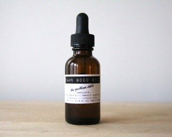 Damn Good Oil // The Problem Child (Tea Tree + Lemon) -- 100% natural • skin-clearing • face oil/serum