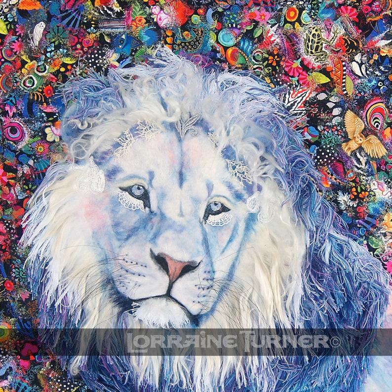 White Lion A Promise Kept Giclée image 0