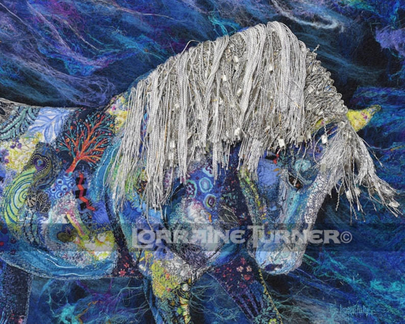 Star Bound Wild Stallion Giclée image 0