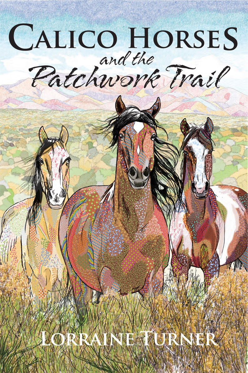 Calico Horses and the Patchwork Trail Book image 0
