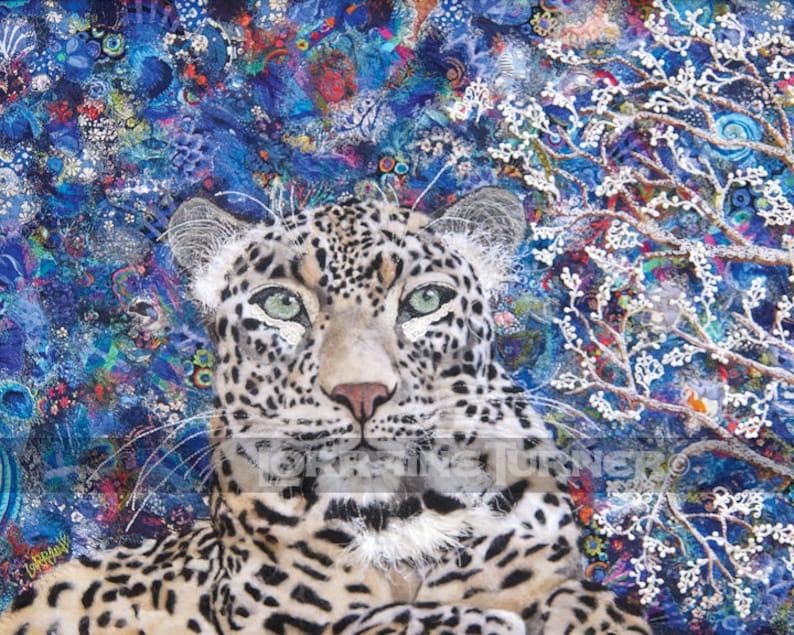 Snow Leopard Giclée image 0