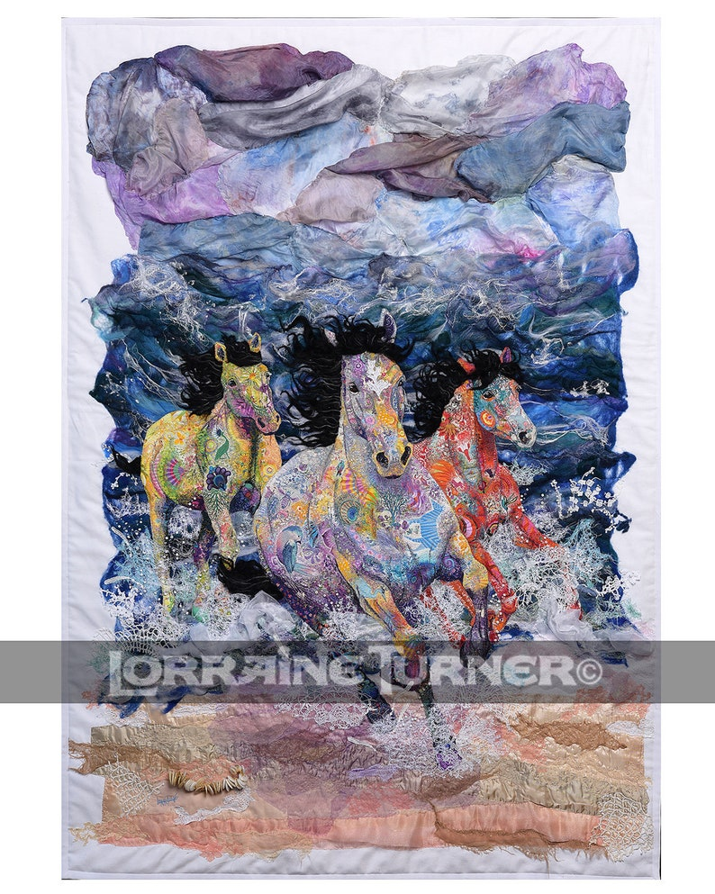 Wild Horses Outrunning a Hurricane image 0