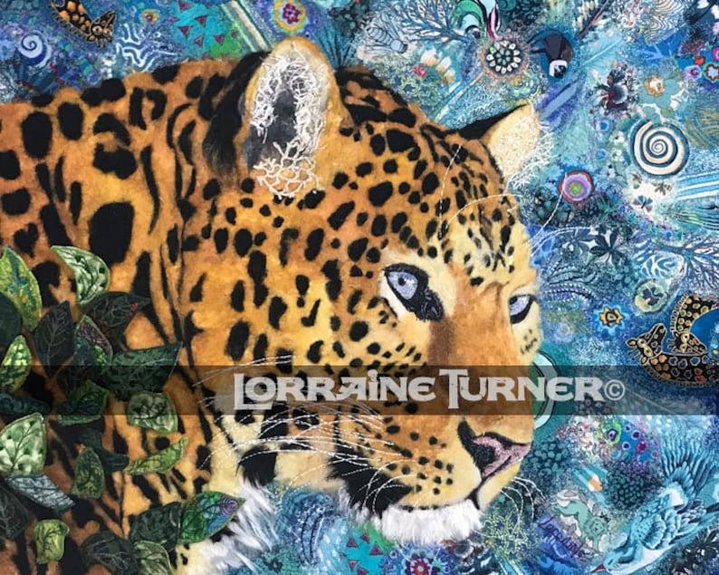Leopard Textile Art image 0