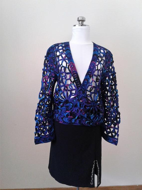 Lace Blouses For Women, Crochet Sweater, Crochet L