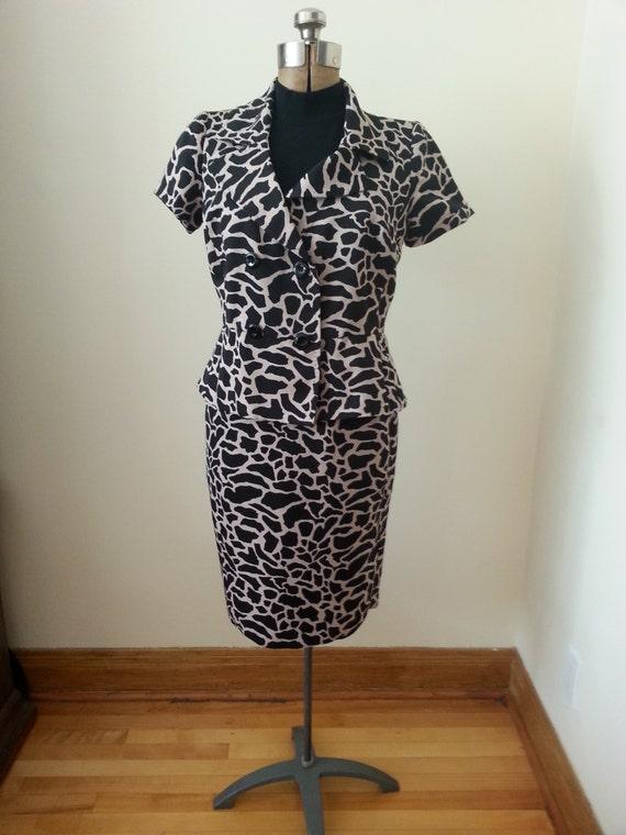 Ladies Retro Suit, Skirt Suits, Two Piece Skirt Su