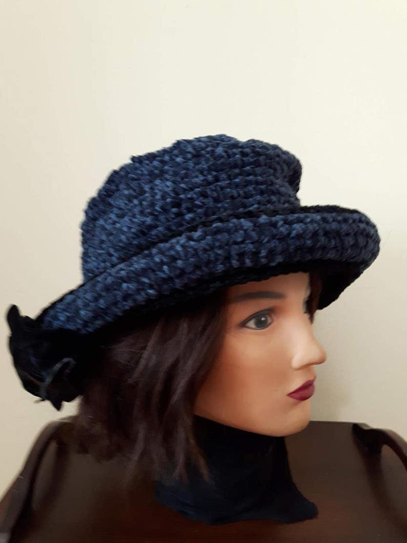 e603a62588745 Women s Bucket Hat Crochet Hat Formal Hat Vintage Hats