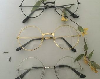 e0d6e168fc8d Round Frame Circle Glasses
