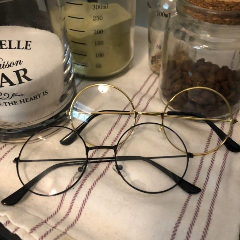Round Frame Circle Glasses image 0