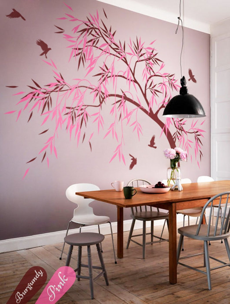 Dining Room Wall Decoration Hallway Tree Decals Area
