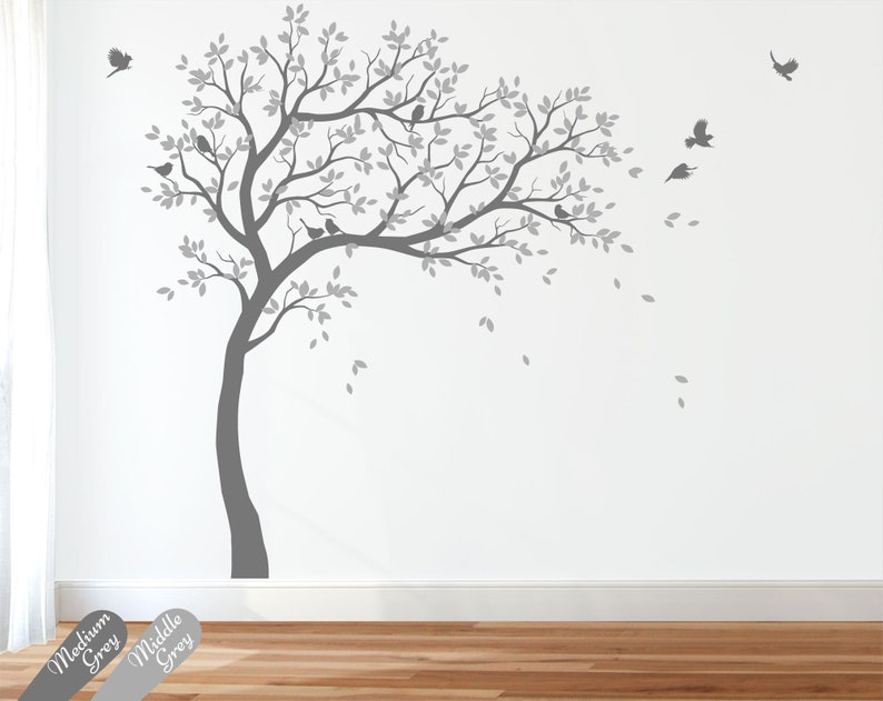 Wall Decal Large Tree decals huge tree decal nursery with image 0