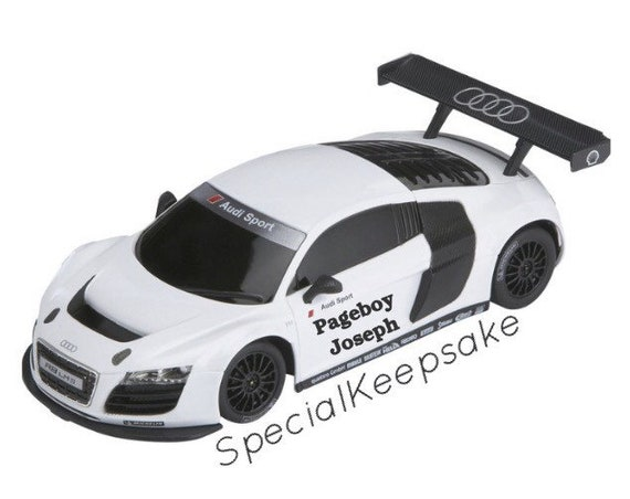 Personalised Remote Control Car Toy Sports Pageboy Best Etsy - Audi remote control car