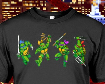 a8f18e6f8 Turtles In Time Unisex T-Shirt - Any Color Shirt Available
