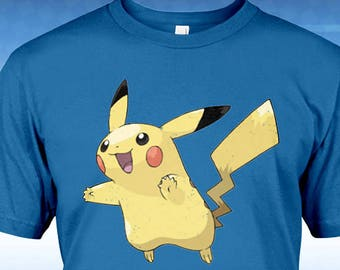 7f01d719f Pikachu Unisex T-Shirt - Any Color Shirt Available