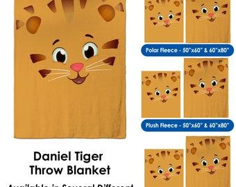 c2705a1e3dba1 Tiger Face Throw Blanket