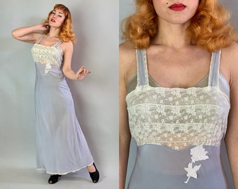 a0bf09bace 1940s Bedtime Betty Negligee