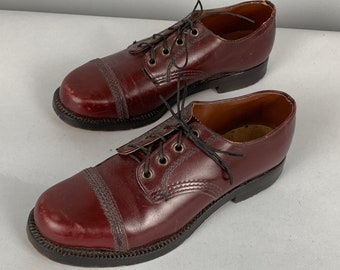 990bd3f10331dd 1940s Womens Oxfords