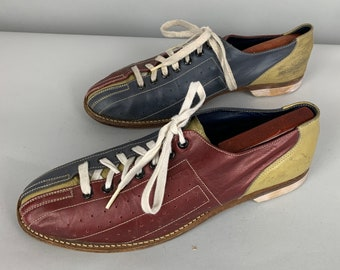 6ce1306255469c 1960s Two-Tone Bowling Shoes