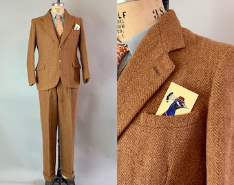 947a1167da07 1940s Refined Reginald Three Piece Suit