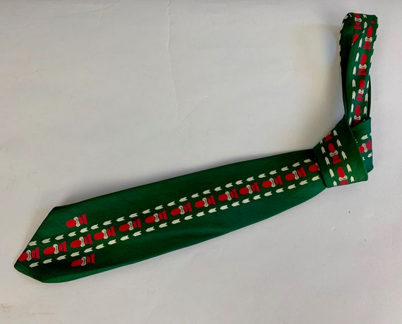 """1940s Dapper Dan Novelty Necktie 