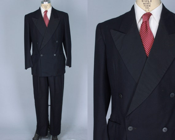 """1940s Mens Tuxedo Dated 1947! 