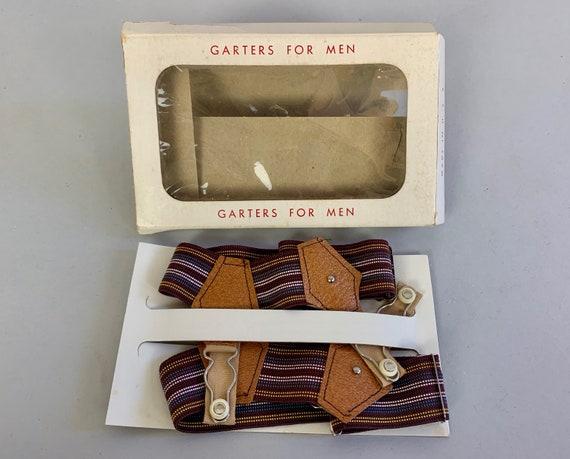 1940s Dapper Dan Sock Garters | Vintage 40s NOS Br