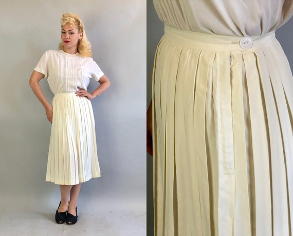 """Vintage 1950s Skirt 