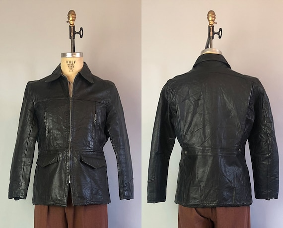 "1950's Mens ""Harley Davidson"" Moto Jacket 