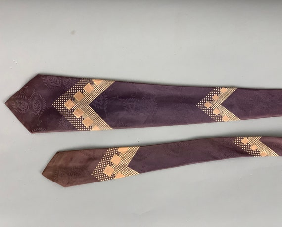 """Vintage 1940s Dapper Dan Necktie 