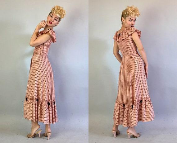 1930s 'Miss Hollywood Jr.' Dress Dated 1935! | Vi… - image 6