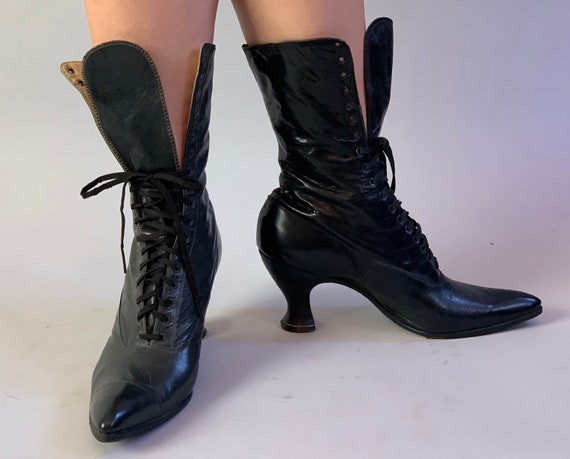 1900s Wickedly Wonderful Boots | Vintage Antique V