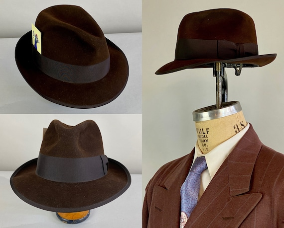 """1940s Deliciously Dapper Hat 