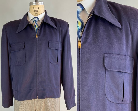 """1950s Rockabilly """"Ricky"""" Jacket 