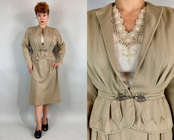 """1940s """"Jaunty Junior"""" Suit 