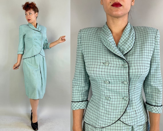 """1940s Marvelous """"Miller"""" Suit 