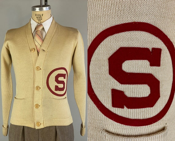 """1930s Stan's Stanford Sweater 