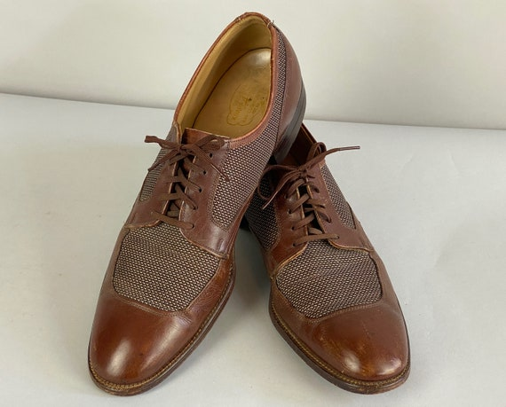 1930s Summer Soirée Oxfords | Vintage 30s Cinnamon