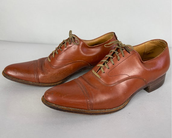 """1930s """"Stacy Adams"""" Shoes 