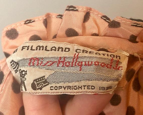 1930s 'Miss Hollywood Jr.' Dress Dated 1935! | Vi… - image 10