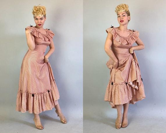 1930s 'Miss Hollywood Jr.' Dress Dated 1935! | Vi… - image 8