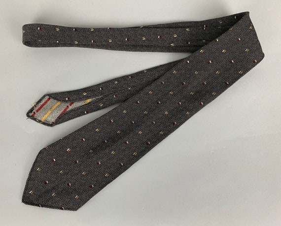 """1930s Dapper Dan Necktie 
