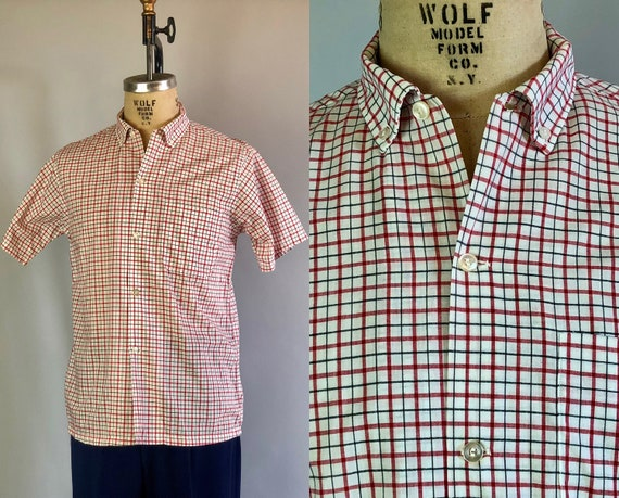 "1960s Mens ""Van Heusen"" Shirt 