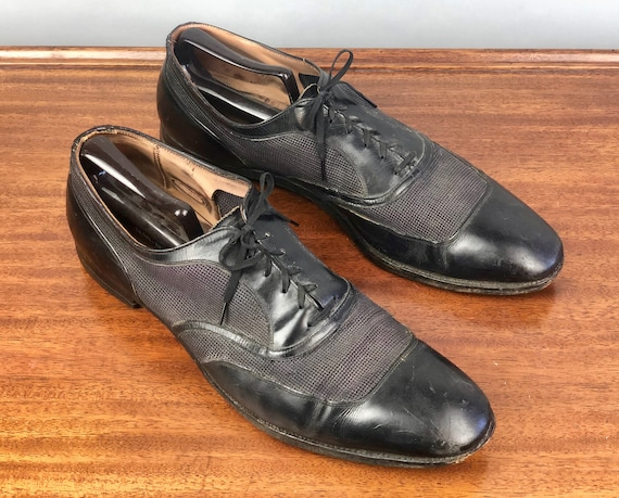 """1940s Ventilated Mens Shoes 