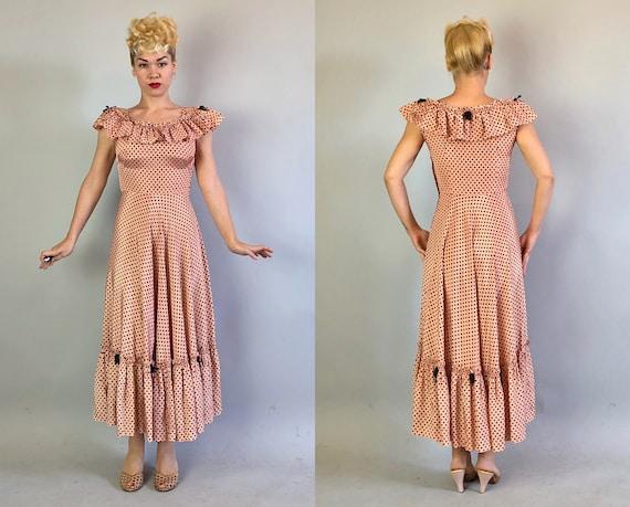 1930s 'Miss Hollywood Jr.' Dress Dated 1935! | Vi… - image 4