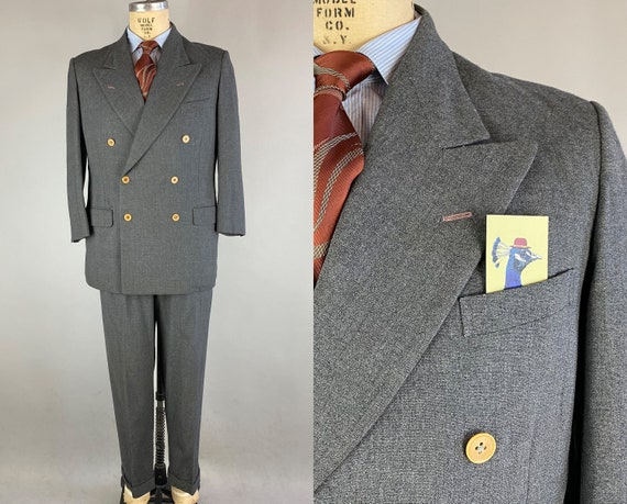 """1940s Ambitious Adam Suit 