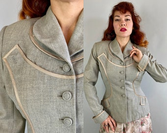 """1940s Lucky in """"Lilli Ann"""" Blazer 