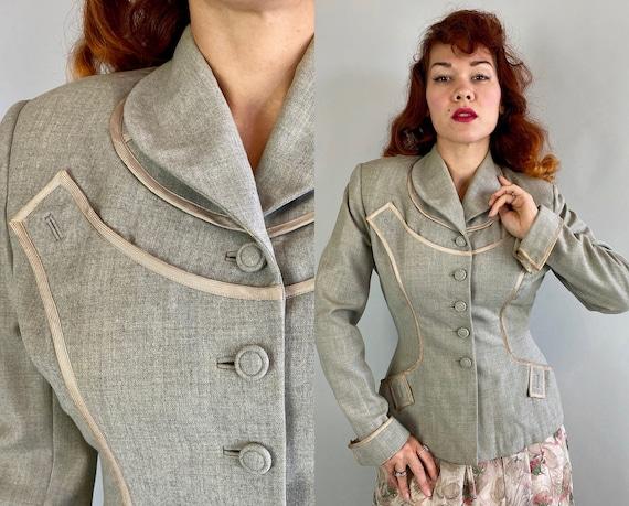 "1940s Lucky in ""Lilli Ann"" Blazer   Vintage 40s He"