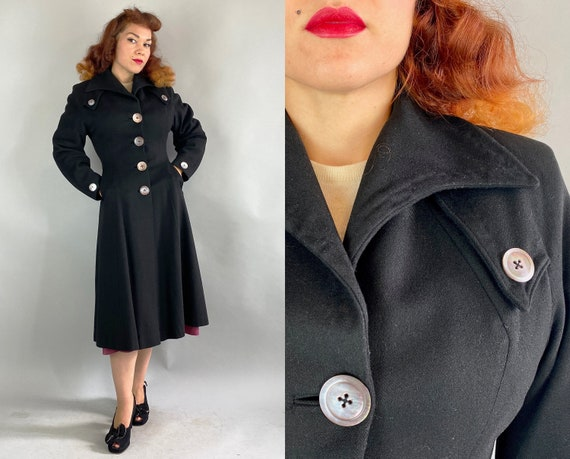"""1940s """"Jaunty Junior"""" Coat 