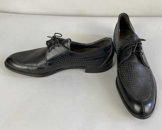 """1950s """"The Meteor"""" Summer Oxfords 
